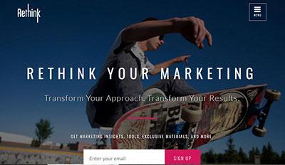 Rethink Your Marketing